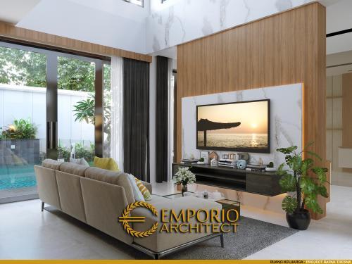 Desain Interior Desain Rumah Modern 2 Lantai Mrs. Asty
