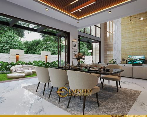 Desain Interior Desain Rumah Modern 2.5 Lantai Bapak Budi