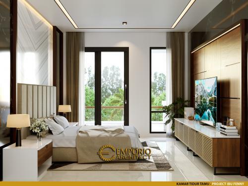 Interior Design Mrs. Fenny Modern House 2.5 Floors Design - Manado