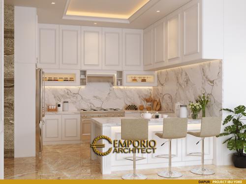 Desain Interior Desain Rumah Modern 2.5 Lantai Ibu Yoke