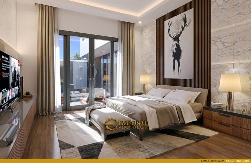 Interior Design Mrs. Tutus Modern House 2.5 Floors Design - Malang, Jawa Timur