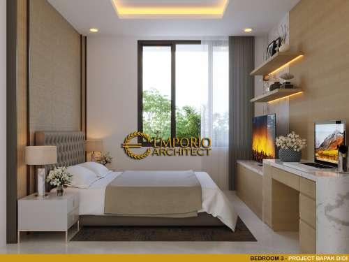 Interior Design Mr. Didi Modern House 2.5 Floors Design - Jakarta Selatan