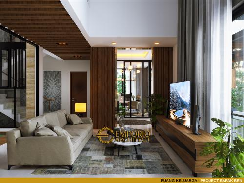 Interior Design Mr. Ben Modern House 3 Floors Design - Jakarta