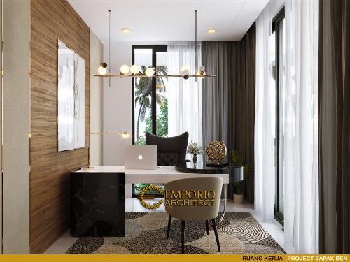 Desain Interior Desain Rumah Modern 3 Lantai Bapak Ben