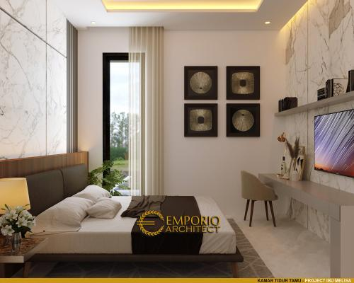 Desain Interior Desain Rumah Modern 3 Lantai Ibu Melisa