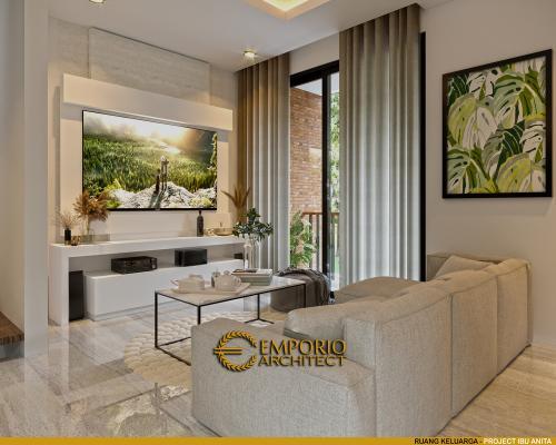 Interior Design Mrs. Anita Modern House 3 Floors Design - Jakarta Selatan