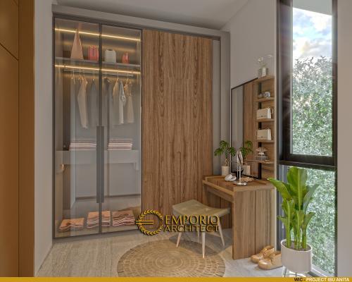 Desain Interior Desain Rumah Modern 3 Lantai Ibu Anita
