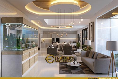 Interior Design Mr. Wijaya Modern House 3 Floors Design - PIK, Jakarta