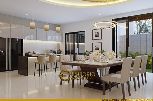 Desain Interior Desain Rumah Modern 3 Lantai Bapak Wijaya