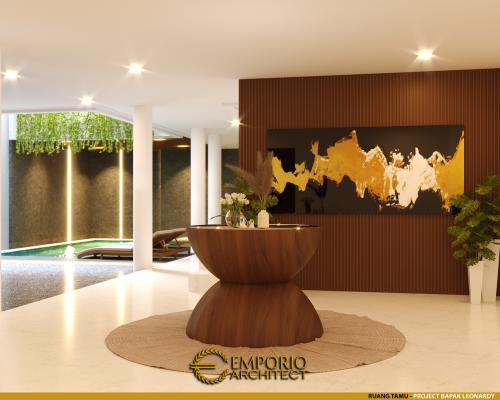 Interior Design Mr. Leonardy Modern House 3 Floors Design - Jakarta Utara