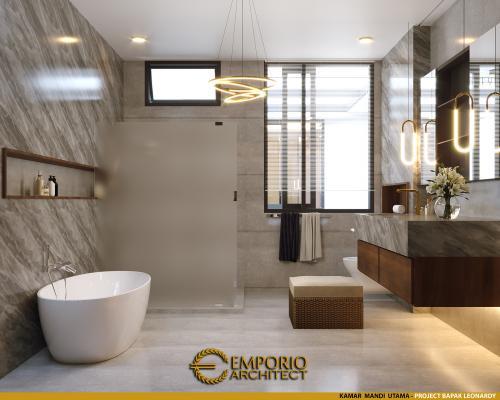 Interior Design Mr. Leonardy Modern House 3 Floors Design - Jakarta Utara