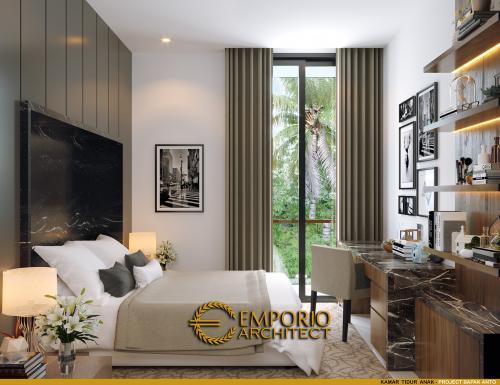 Desain Interior Desain Rumah Modern 3 Lantai Bapak Anton