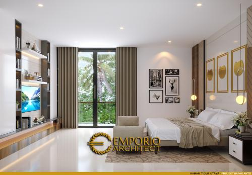 Interior Design Mr. Anton Modern House 3 Floors Design - Jakarta