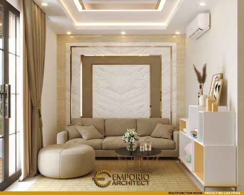Interior Design Mrs. Liza Fitria Modern House 3 Floors Design - Bukittinggi, Sumatera Barat