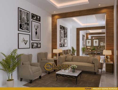 Desain Interior Desain Rumah Modern 3 Lantai Bapak Karuna