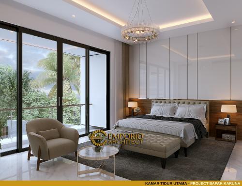 Interior Design Mr. Karuna Modern House 3 Floors Design - Palembang, Sumatera Selatan