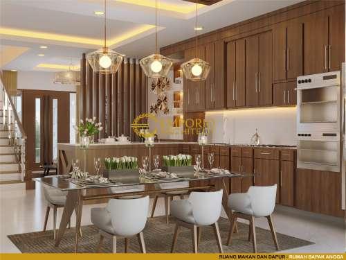 Interior Design Mr. Angga Modern House 3 Floors Design - Surabaya, Jawa Timur
