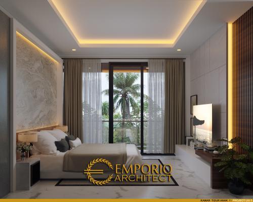 Interior Design Mr. Liu II Modern House 3 Floors Design - Jakarta Barat