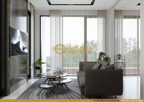 Desain Interior Desain Rumah Modern 3 Lantai Ibu Connie