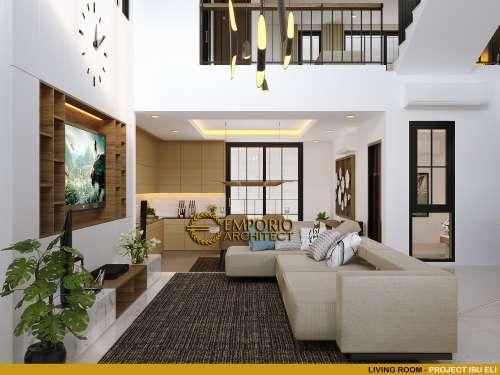 Interior Design Mrs. Eli Modern House 3 Floors Design - Bekasi, Jawa Barat