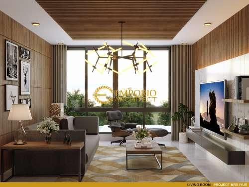 Desain Interior Desain Rumah Classic 1 Lantai Ibu Lellyta