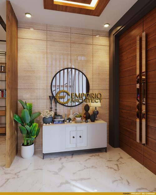 Interior Design Mrs. Cannida Modern House 3.5 Floors Design - Jakarta Barat
