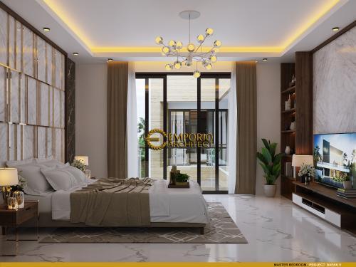 Desain Interior Desain Rumah Modern 3.5 Lantai Bapak V