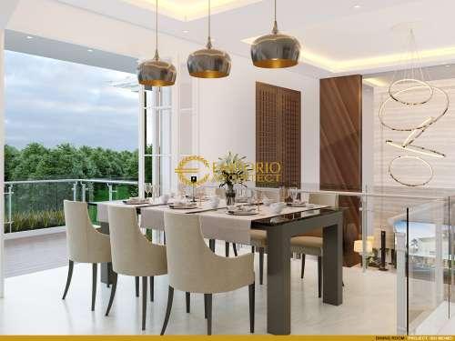 Desain Interior Desain Rumah Modern 3.5 Lantai Ibu Meimei