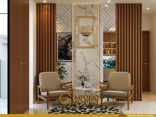 Interior Design Mr. Charles Modern House 4 Floors Design - PIK, Jakarta Utara
