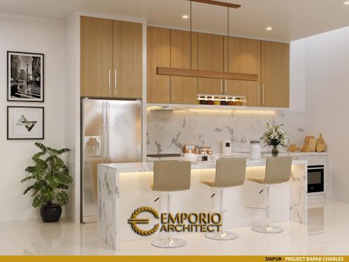 Desain Interior Desain Rumah Modern 4 Lantai Bapak Charles