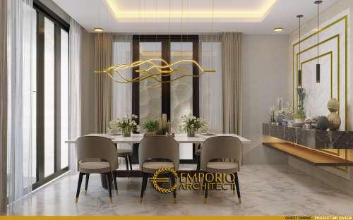 Desain Interior Desain Rumah Modern 4 Lantai Mr. Qasem