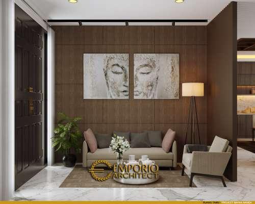 Interior Design Mr. Nanda Modern Classic House 2 Floors Design - Padang, Sumatera Barat