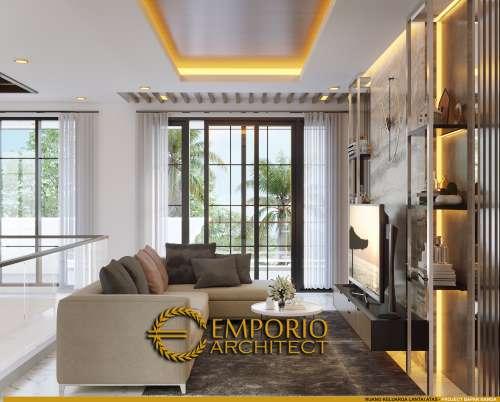 Desain Interior Desain Rumah Modern Classic 2 Lantai Bapak Nanda