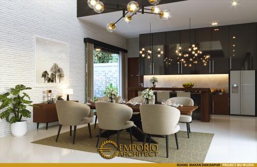 Interior Design Mrs. Wijaya Modern Industrial House 2 Floors Design - Yogyakarta