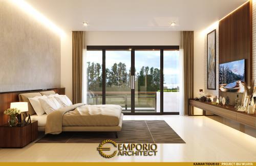 Desain Interior Desain Rumah Modern Industrial 2 Lantai Ibu Wijaya