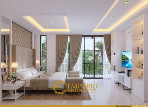 Interior Design Mrs. Winda Modern Classic House 3 Floors Design - Padang, Sumatera Barat
