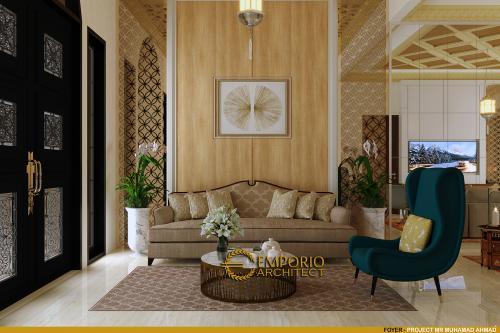 Interior Design Mr. M. Ahmad Moroccan Style House 1.5 Floors Design - Cirebon, Jawa Barat