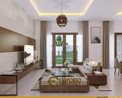 Interior Design Mr. Ayat Villa Bali House 1 Floor Design - Serang, Banten