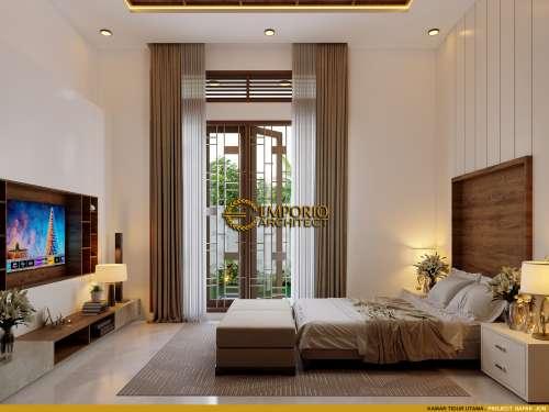 Interior Design Mr. Jon Villa Bali House 1 Floor Design - Pekanbaru, Riau