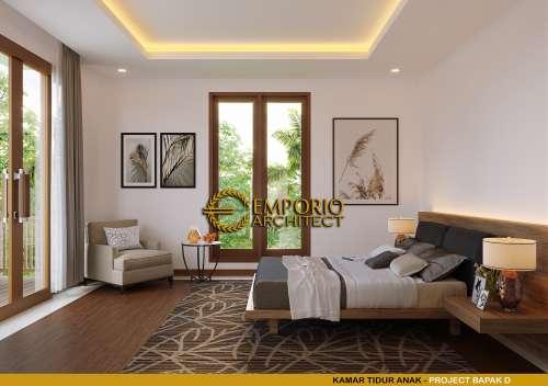 Interior Design Mr. D Villa Bali House 1 Floor Design - Bukittinggi, Sumatera Barat