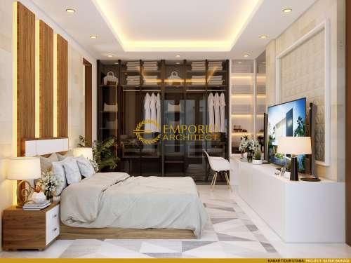 Interior Design Mr. Baihaqi Villa Bali House 1.5 Floors Design - Aceh