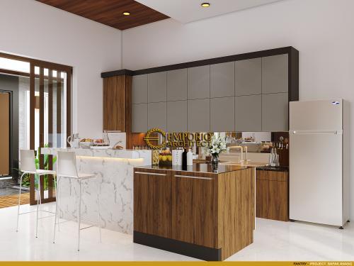Interior Design Mr. Anang Villa Bali House 2 Floors Design - Yogyakarta