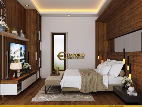 Desain Interior Desain Rumah Villa Bali 2 Lantai Bapak Anang
