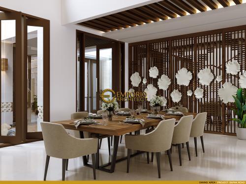 Desain Interior Desain Rumah Villa Bali 2 Lantai Bapak Reno