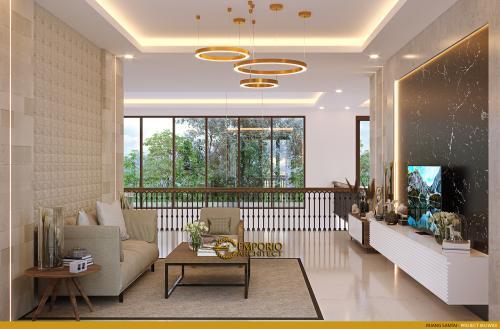 Interior Design Mrs. Widi Villa Bali House 2 Floors Design - Bandung, Jawa Barat