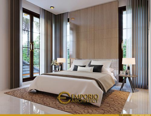 Interior Design Mr. Harun Villa Bali House 2 Floors Design - Binjai, Sumatera Utara