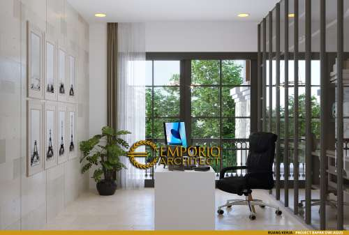 Interior Design Mr. Dwi Agus Villa Bali House 2 Floors Design - Semarang, Jawa Tengah