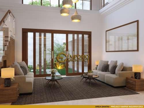 Interior Design dr. Ngurah Eka Villa Bali House 2 Floors Design - Denpasar, Bali