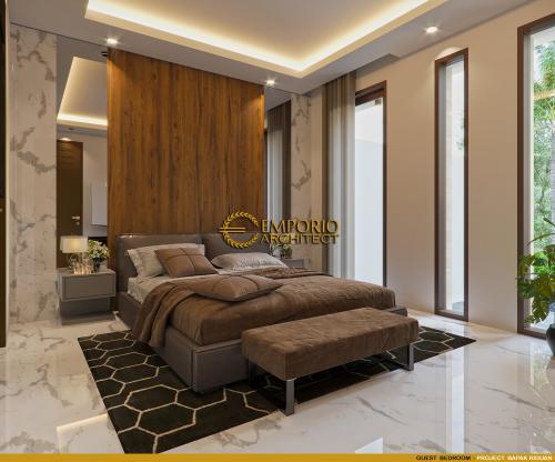 Desain Interior Desain Rumah Villa Bali 2.5 Lantai Bapak Riduan