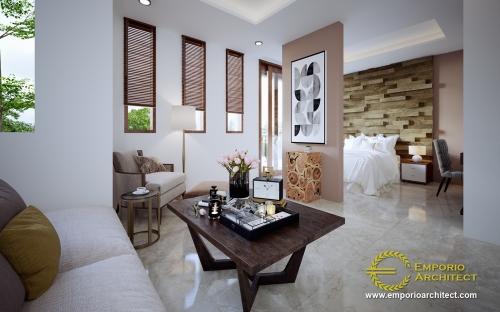 Interior Design Mr. Robert Villa 2 Floors Design - Seminyak, Bali